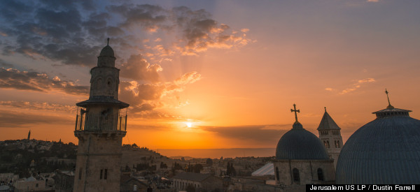 LOOK: Jerusalem Like You've Never Seen It Before