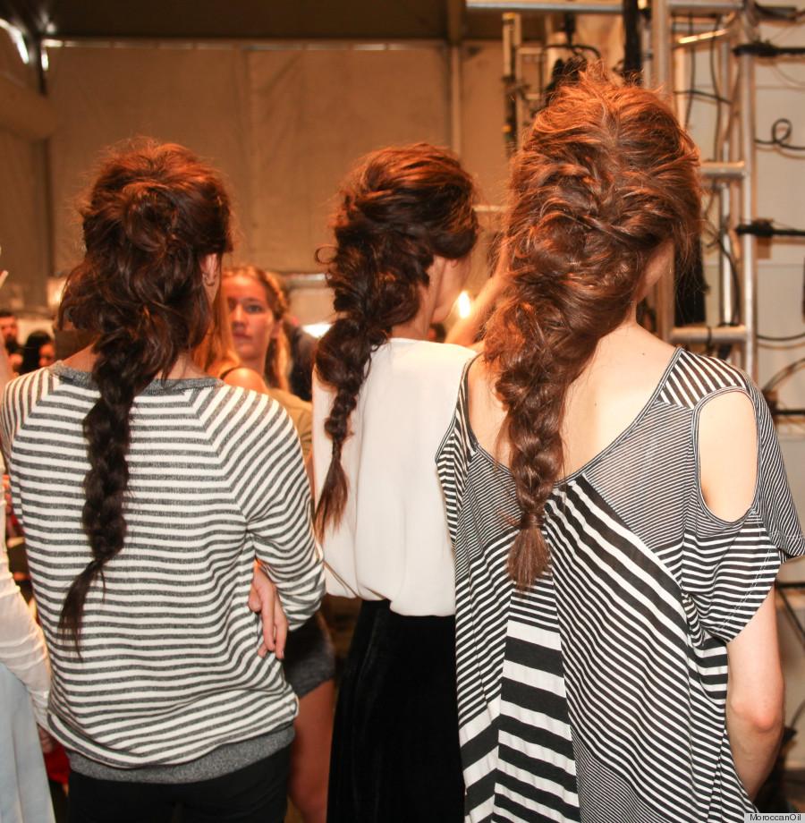rachel zoe spring 2014 braids