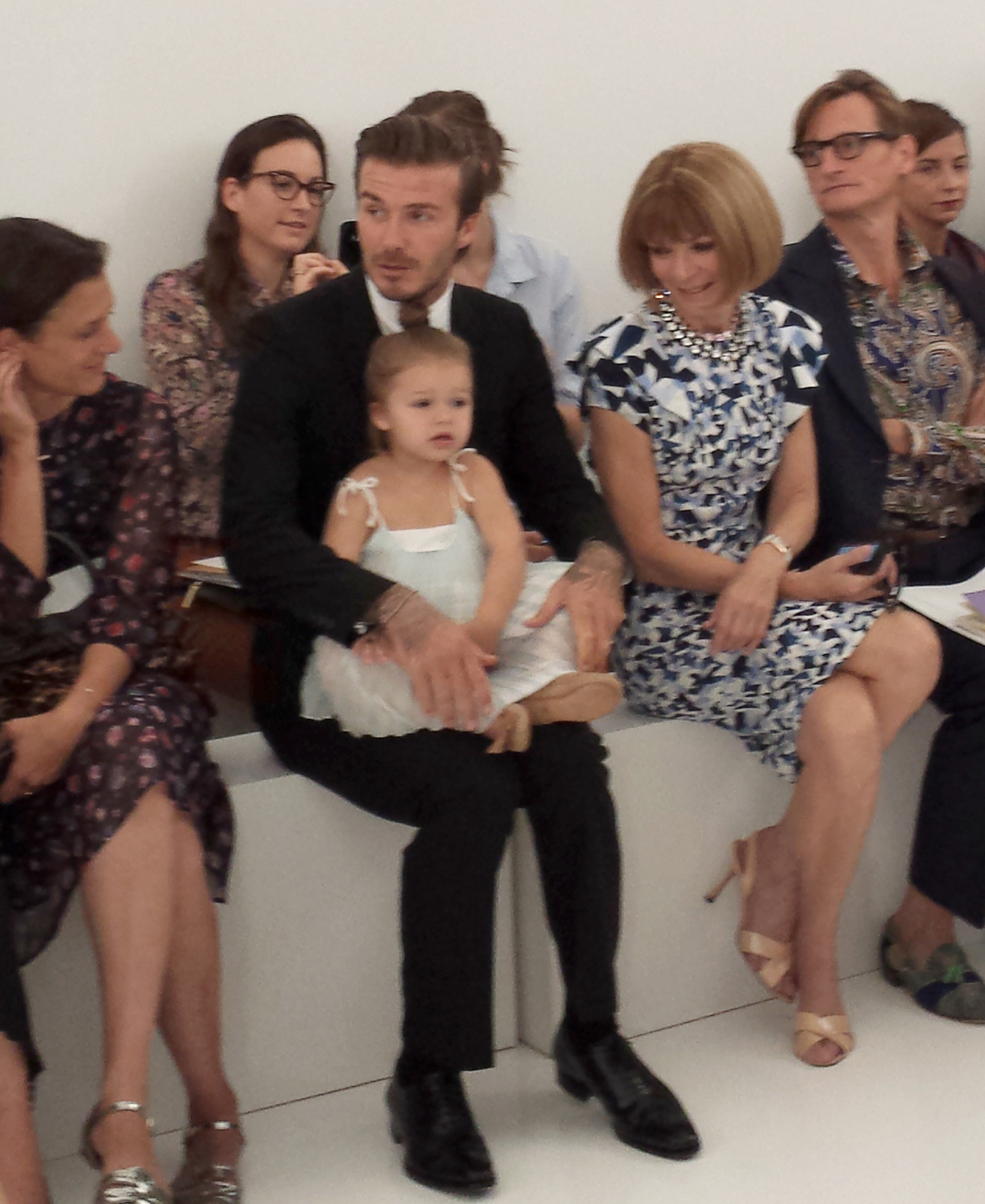 David Beckham: Harper Nearly Kicked Anna Wintour At ...