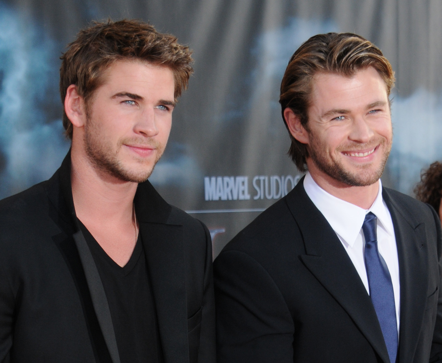Photo of Liam Hemsworth & his  Brother  Chris Hemsworth
