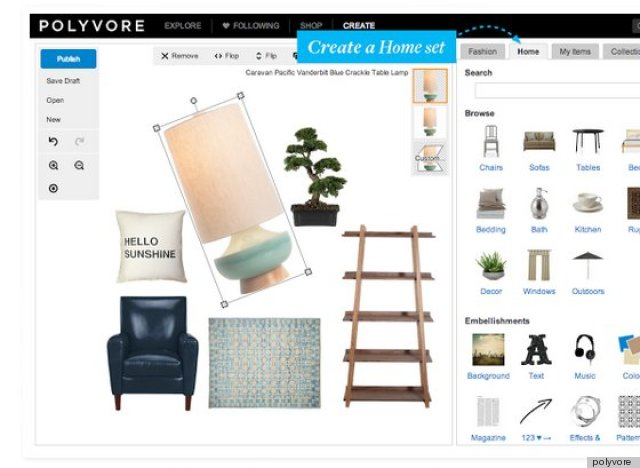 Polyvore Expands Past Fashion And Beauty To Home Design (PHOTOS ...