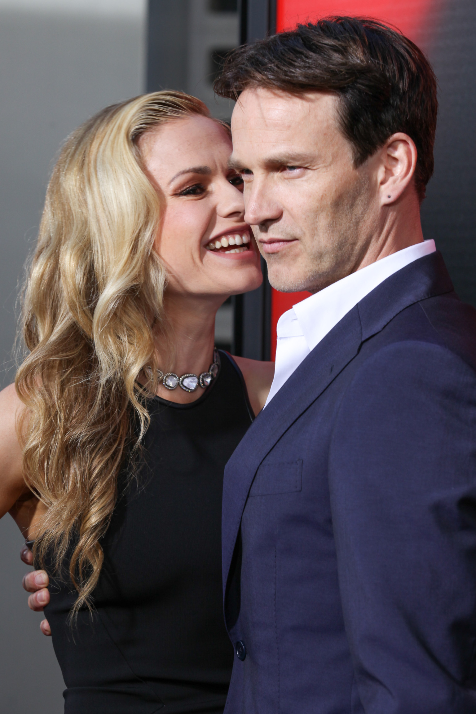 Anna Paquin And Stephen Moyer Pack On The PDA | HuffPost Anna Paquin Divorce