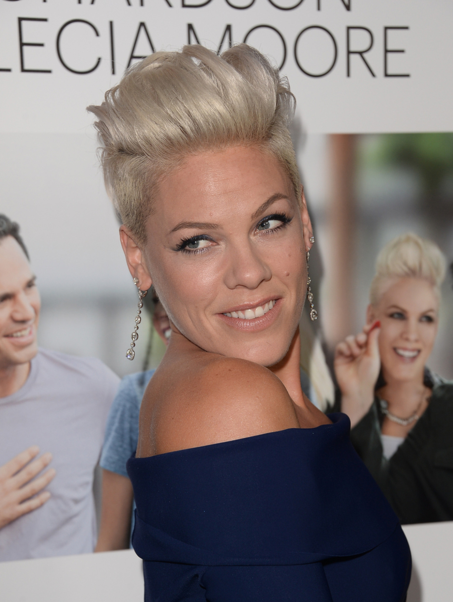 P Nk Looks Incredible At The Thanks For Sharing Premiere