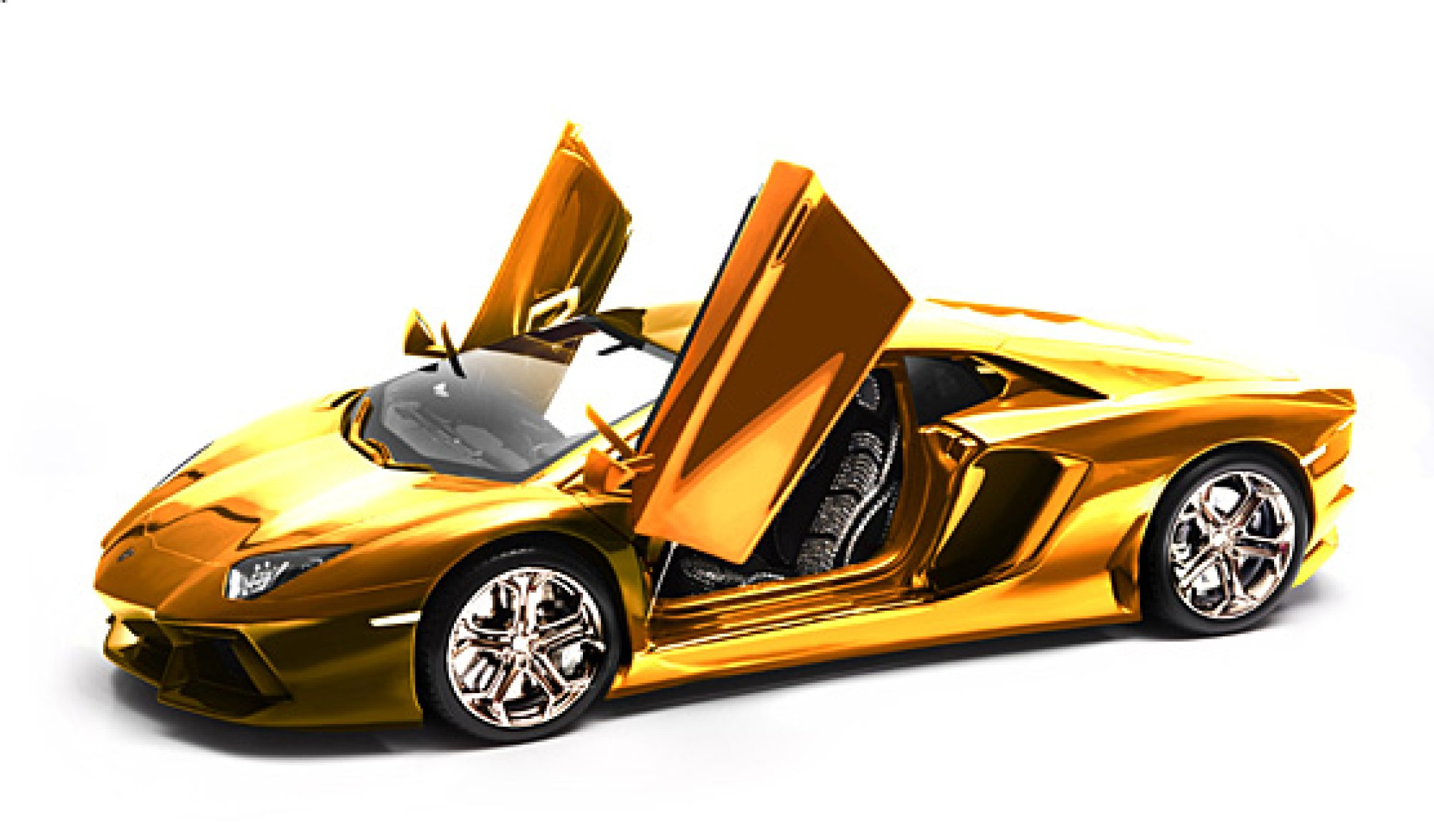 this gold plated lamborghini model car will set you back 75 million huffpost