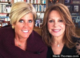 Finance Expert Suze Orman With Marlo Thomas (WATCH)