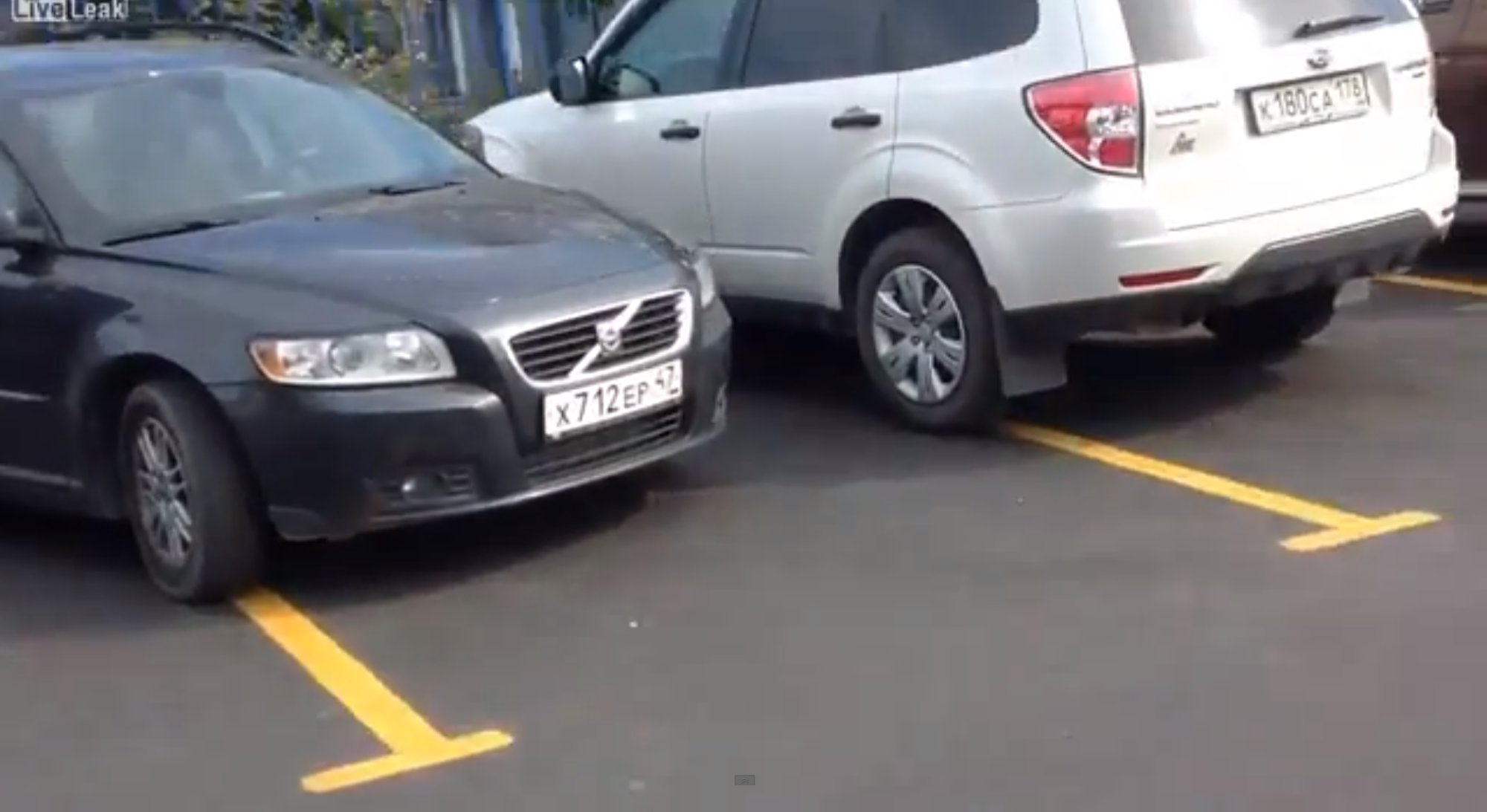 Russian Women Parking Russian 3