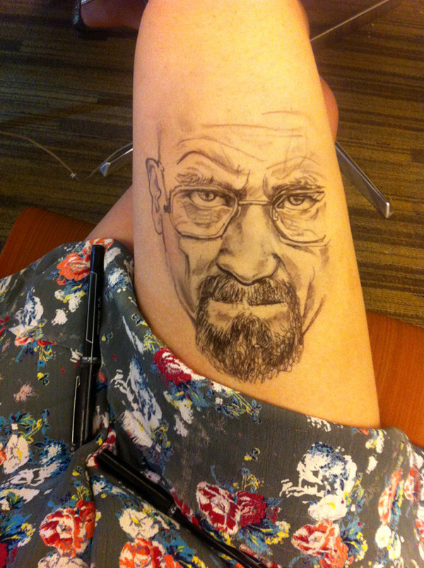 dessin jambe