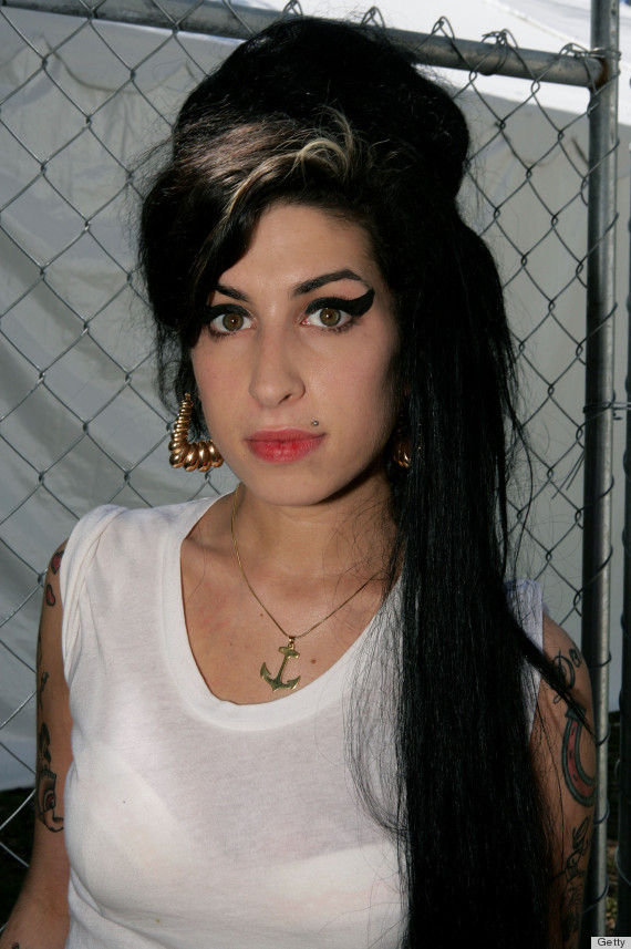 Amy Winehouse Beehive Hairdo 51