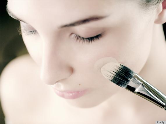 foundation makeup brush