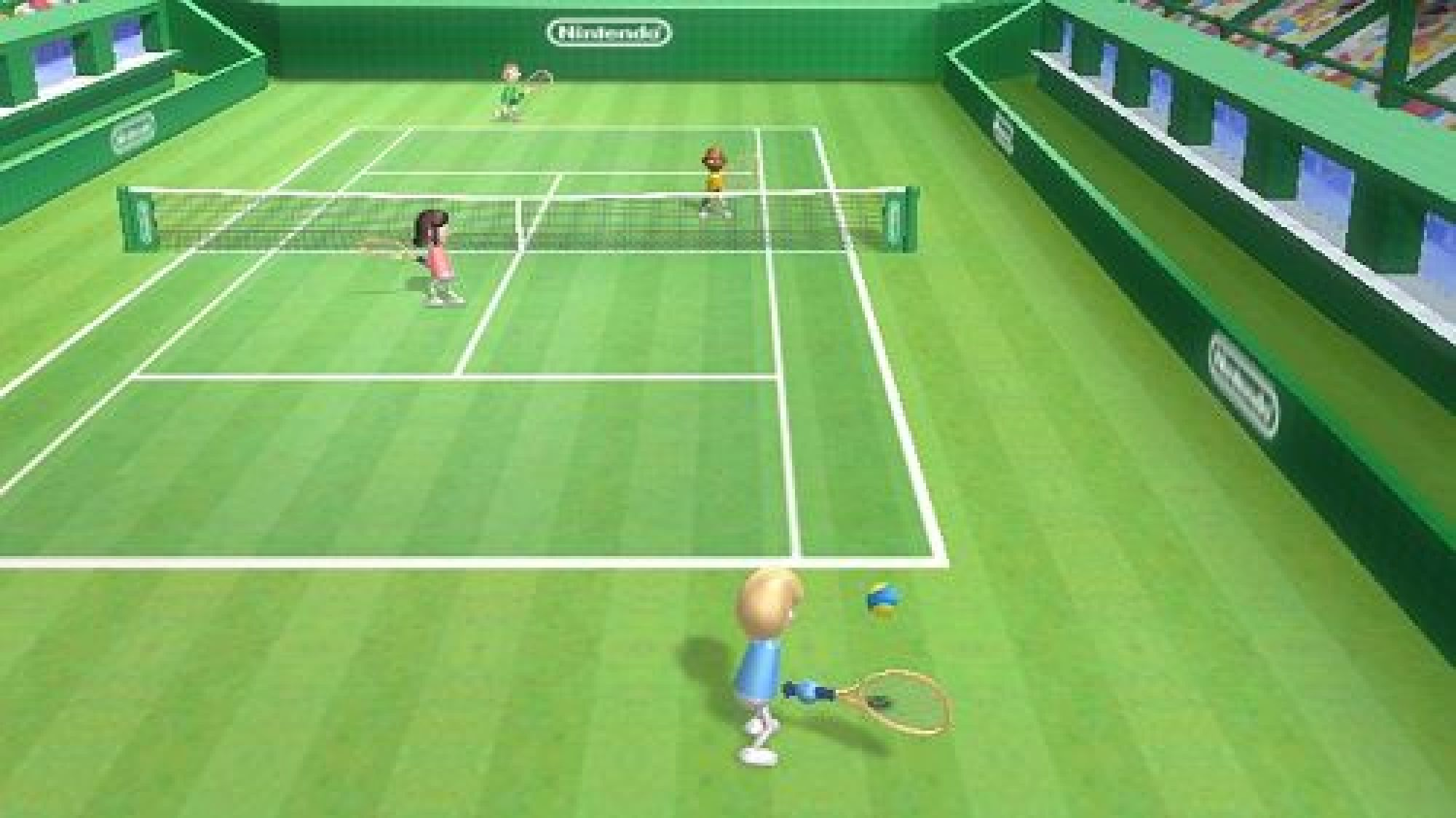 wii sports club tennis games nintendo game classic coming