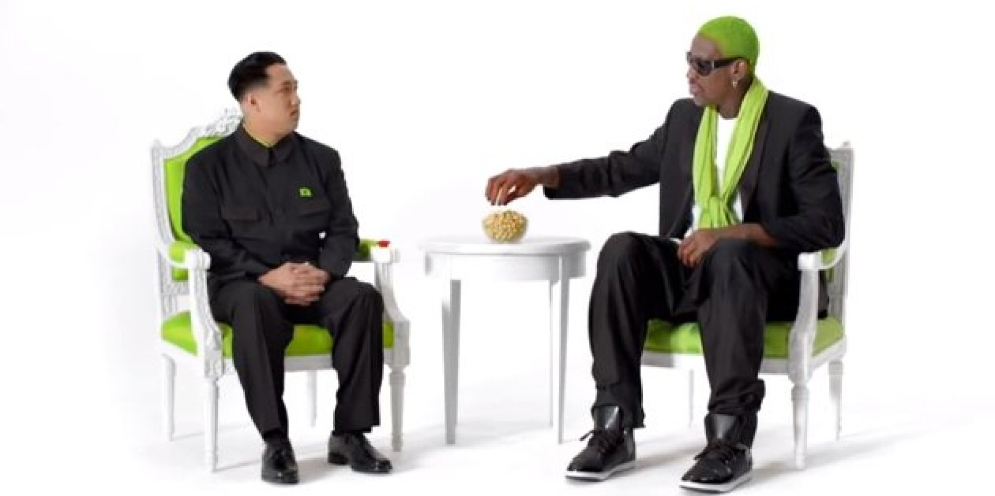 Dennis Rodman Pistachio Ad Is Exactly As Confusing As It Sounds VIDEO
