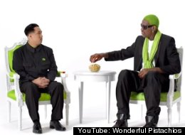 Bonkers: Dennis Rodman's Pistachio Ad With Fake Kim Jong Un