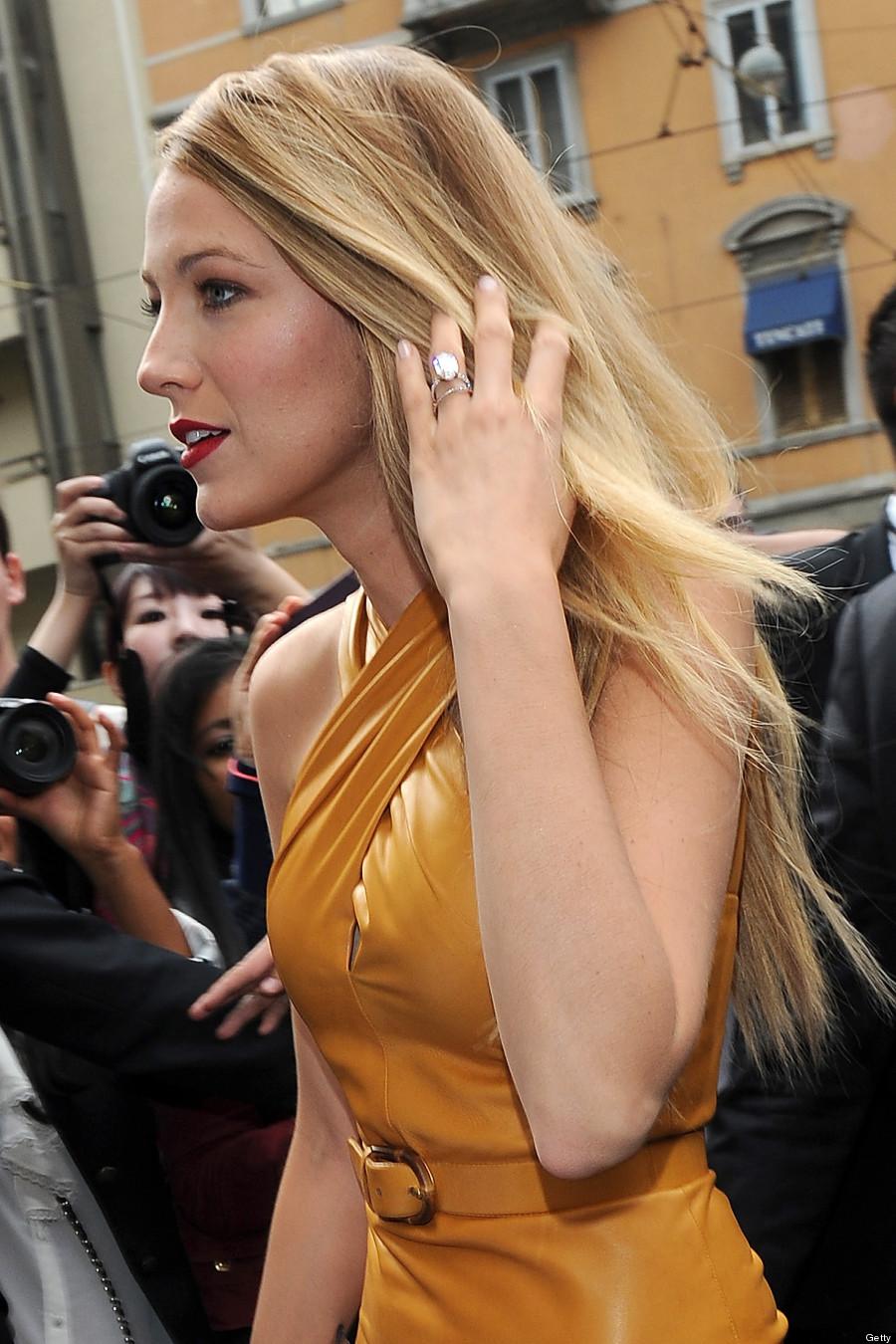 Lively Wedding Ring Look Alike Blake Lively Wedding Ring Replica