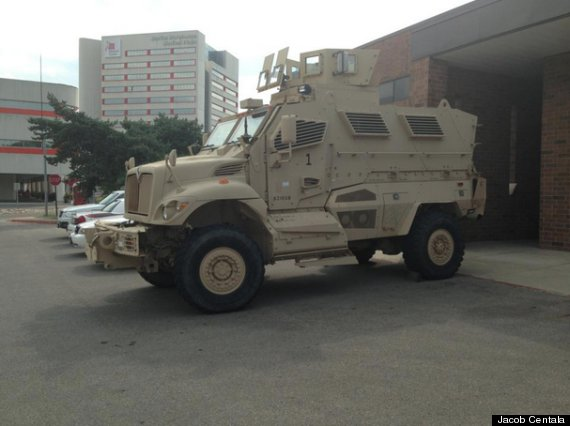 Ohio State University Acquires Military-Style Armored ...