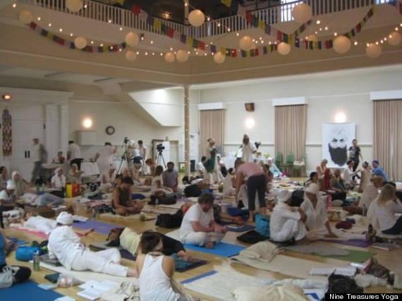 nine treasures yoga