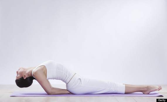 Yoga Poses You Can Do Without Leaving Your Bed Huffpost