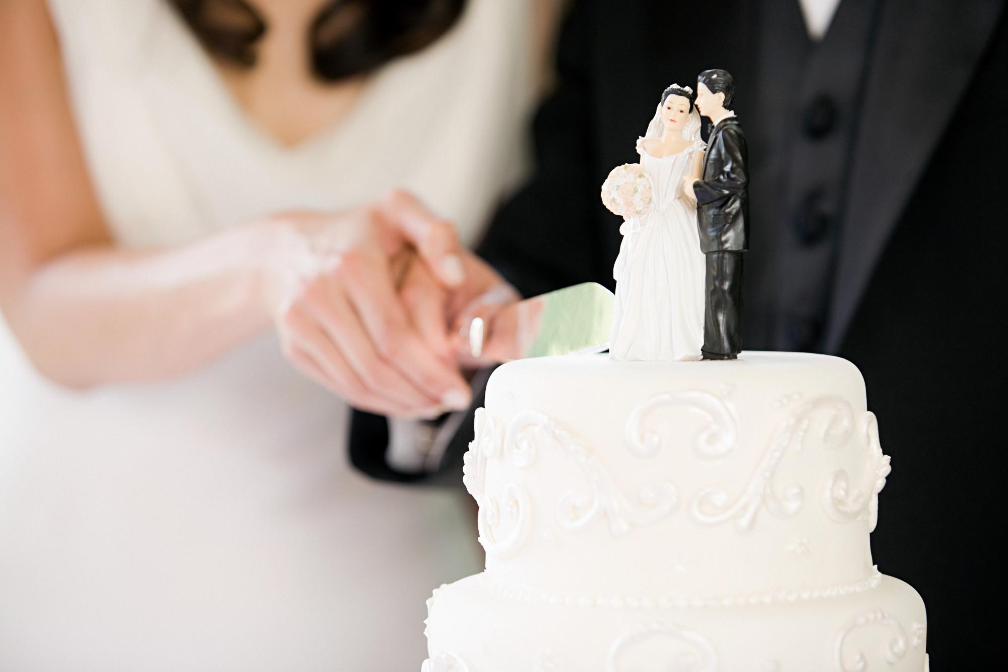 Wedding Cake Tradition One Year Anniversary