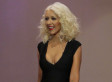 Christina Aguilera Reveals Slim Figure In Little Black Dress On 'Tonight Show With Jay Leno'