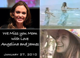 Angelina Jolie Mom Video Tribute