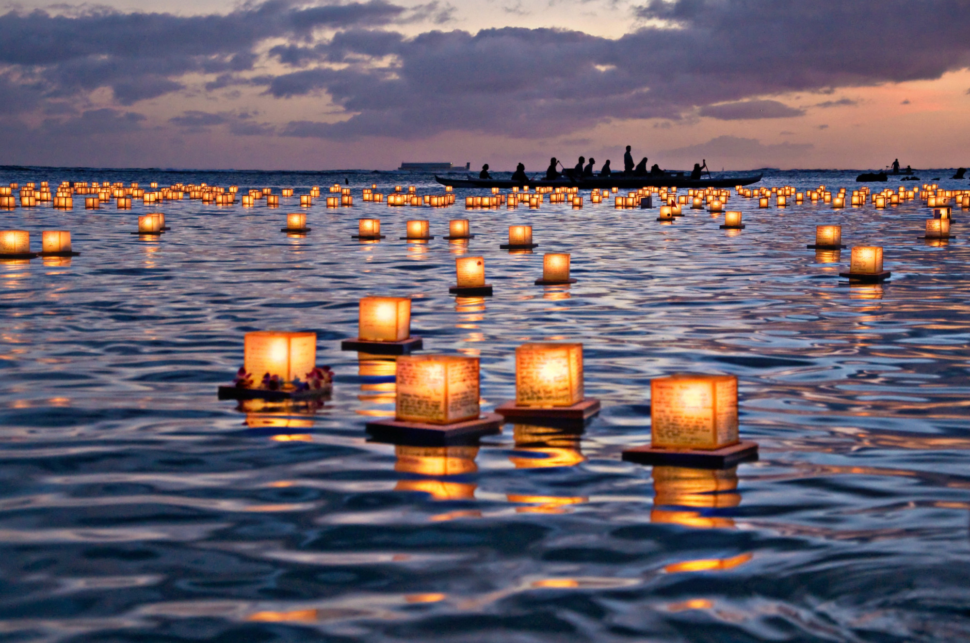 Sending A Message Of Peace To The World Fire Water And