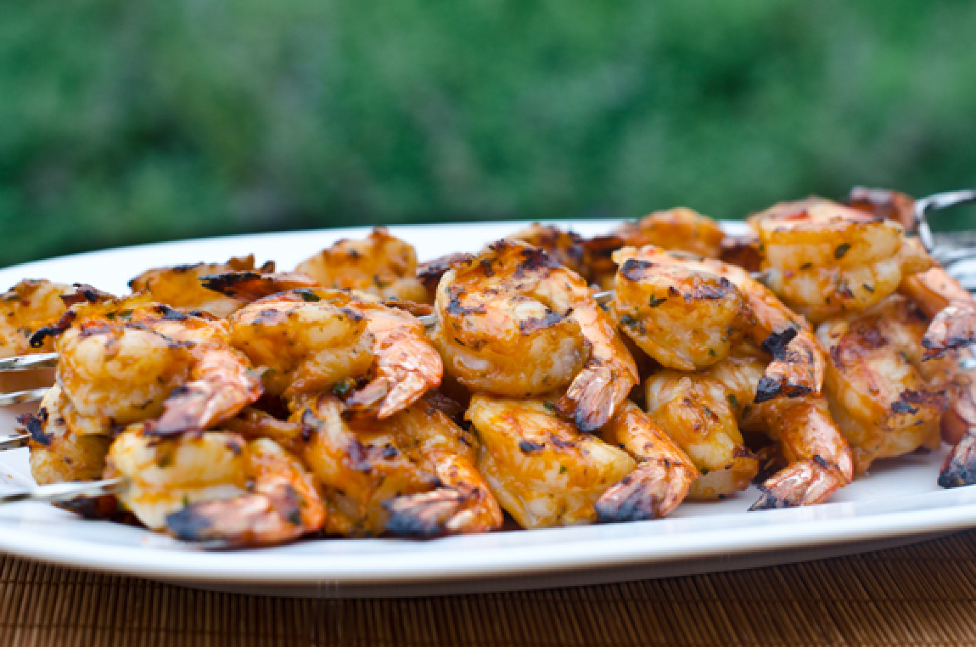 Grilled Shrimp Skewers...