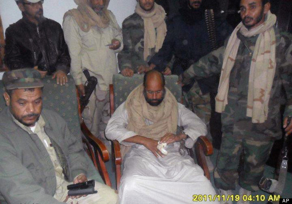 sail al islam gaddafi arrested