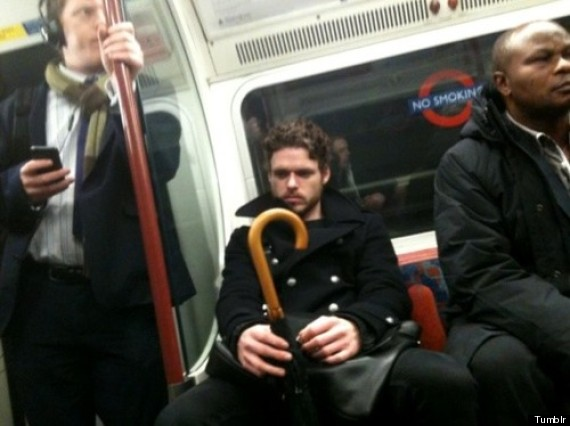 'Game Of Thrones' Star Richard Madden Spotted On 'Men ...