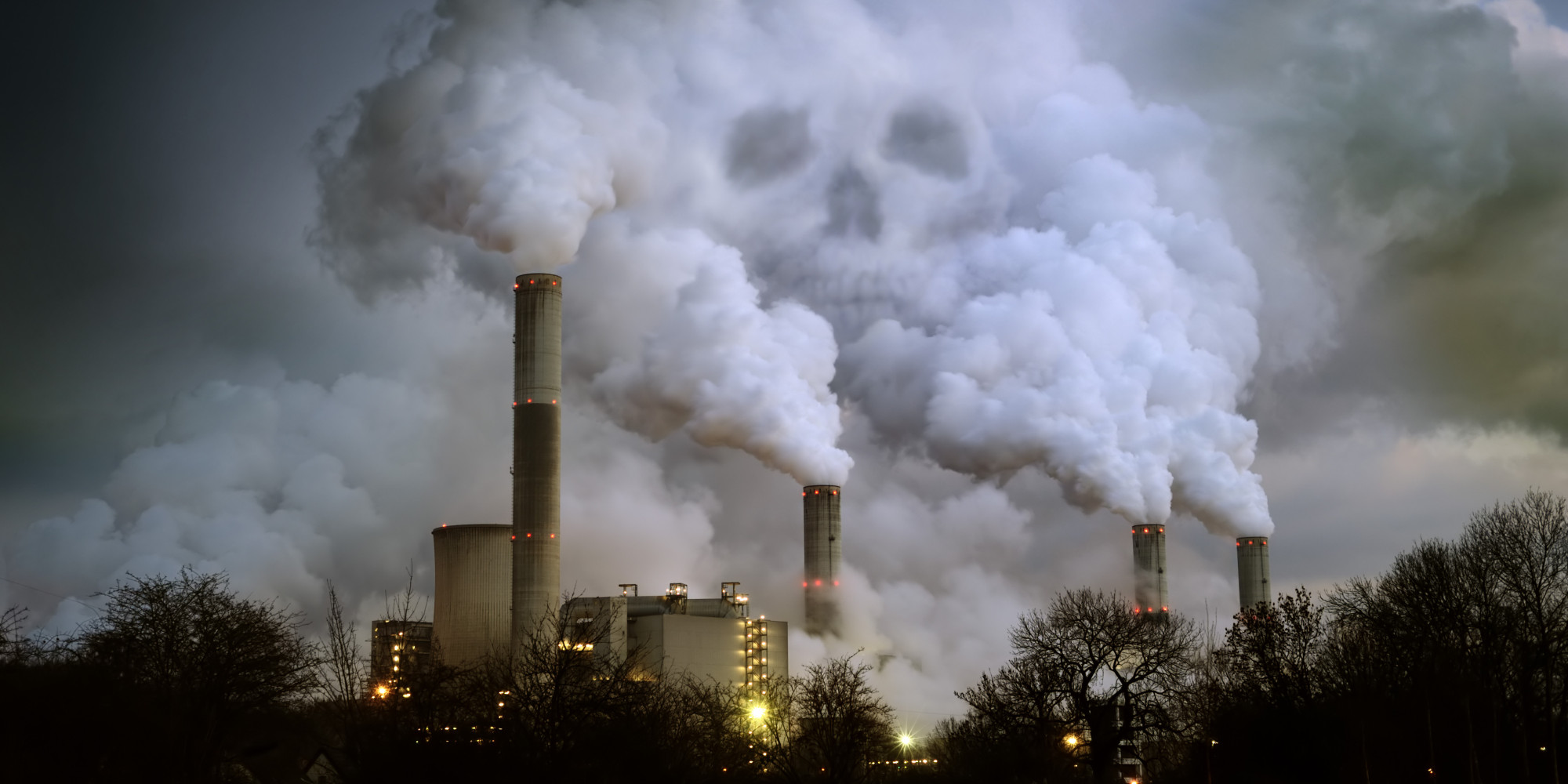 Air Pollution Skull : Ford becomes latest corporation dumping alec and its