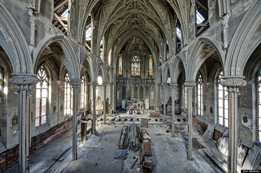 Abandoned Church abandoned churches are eerily beautiful (photos) | huffpost