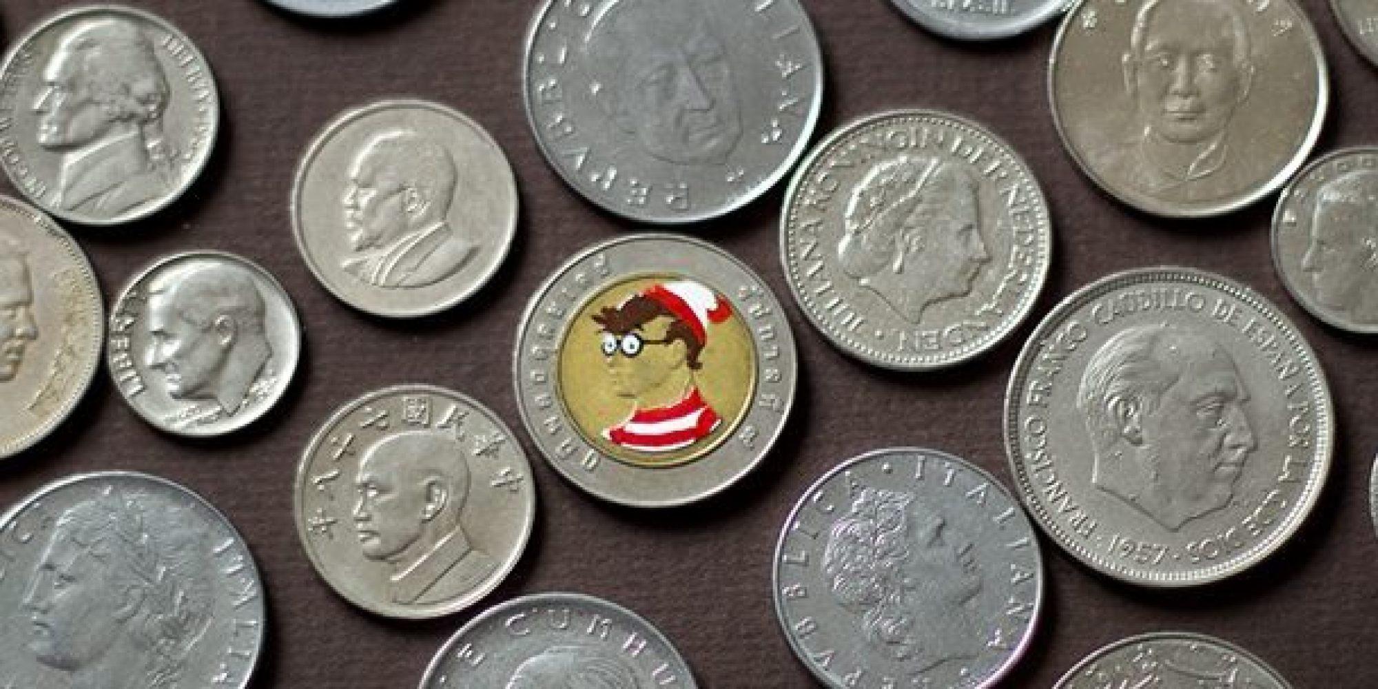 un collectionneur peint les pi ces de monnaie et r invente leurs personnages photos. Black Bedroom Furniture Sets. Home Design Ideas