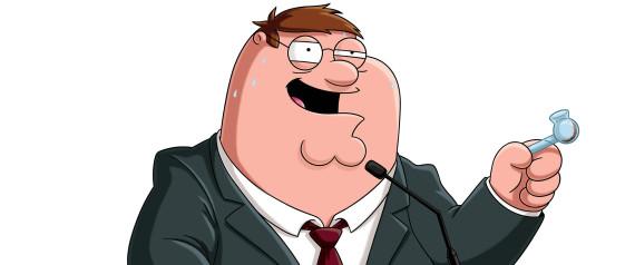 peter smoking crack
