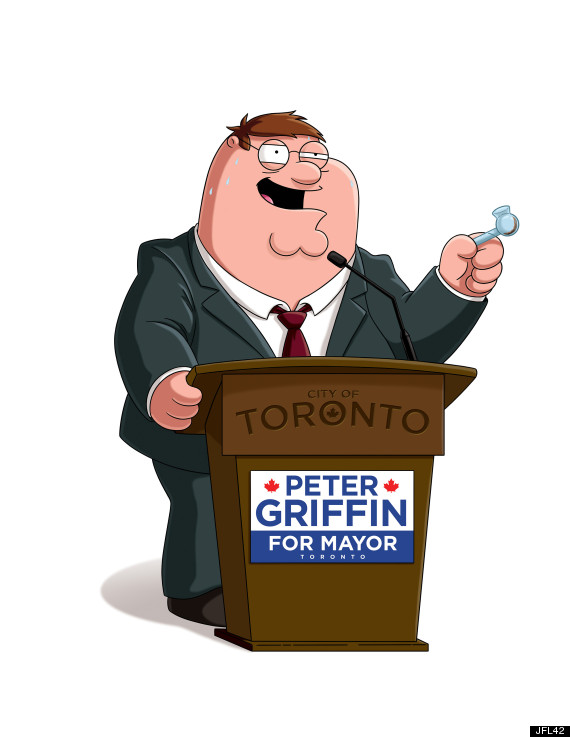 Rob Ford Family Guy Jfl42 Photo Is Allegedly Pretty Funny