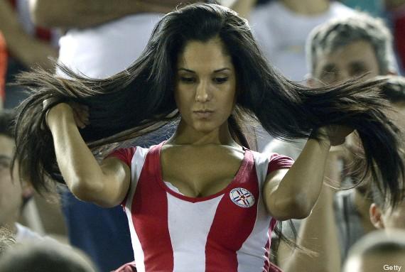 paraguay fan