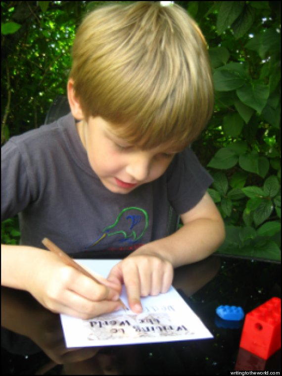 toby little writing to the world