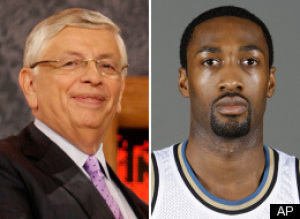 Gilbert Arenas David Stern