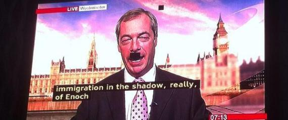 FARAGE MOUSTACHE