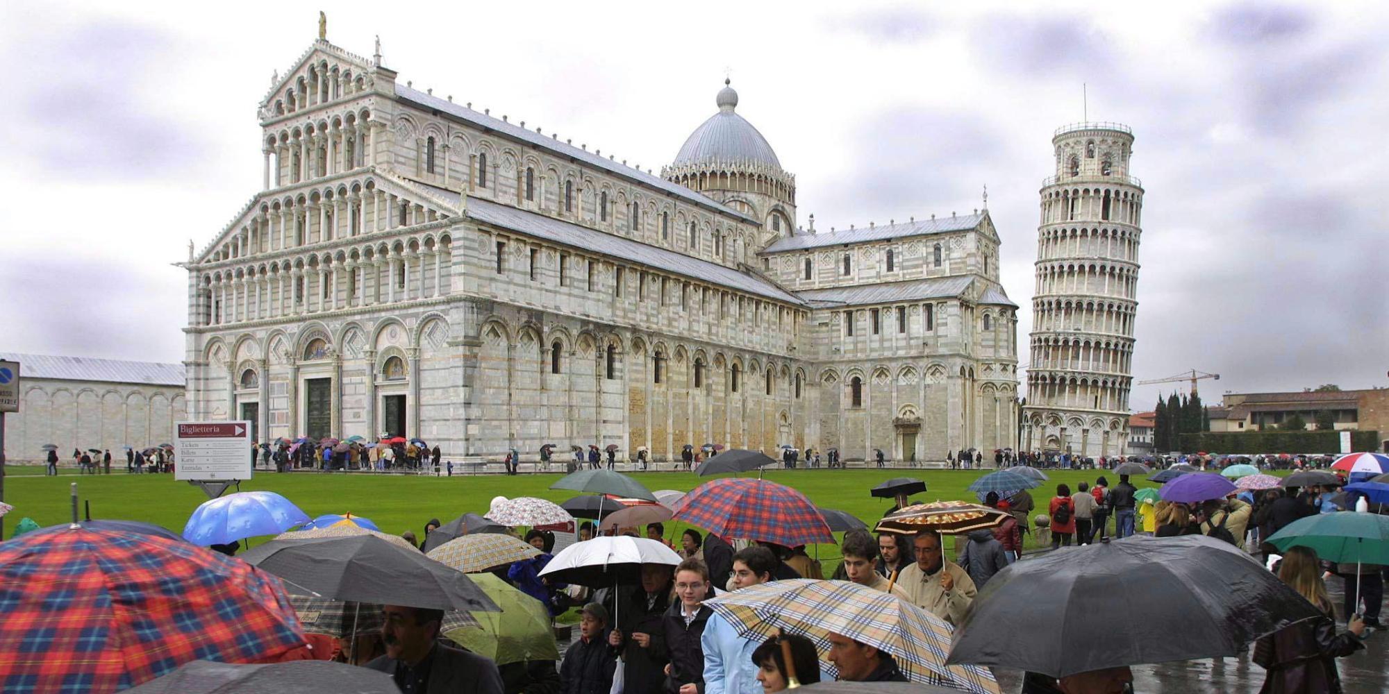 La Torre Di Pisa Come Non L'avete Mai Vista: In 3D E Dall