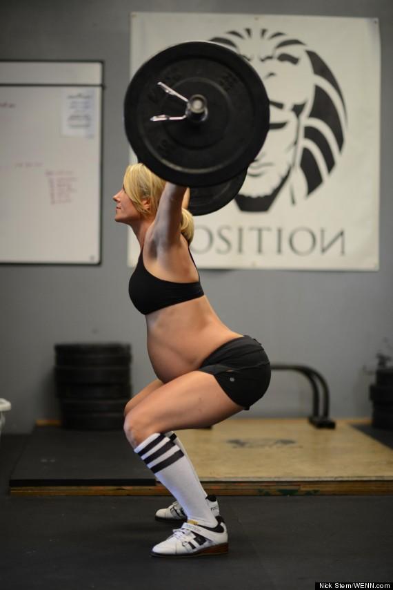 leaann ellison pregnant weightlifter