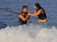 Tandem Wakesurfing Proposal Will Make You Cry