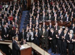 Obama State Of The Union Republicans Applause