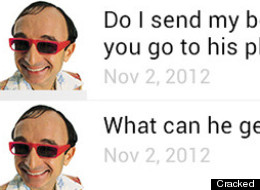 The Most Uncomfortable Text Message Exchange Ever