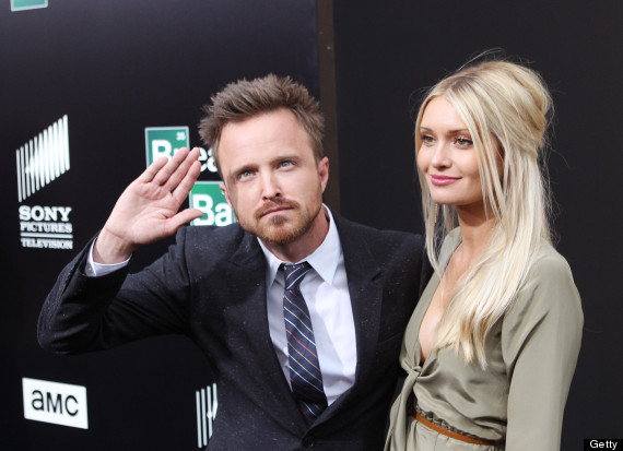 aaron paul wife