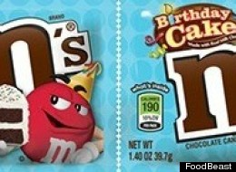 Birthday Cake-Flavored M&Ms Are Finally a Thing