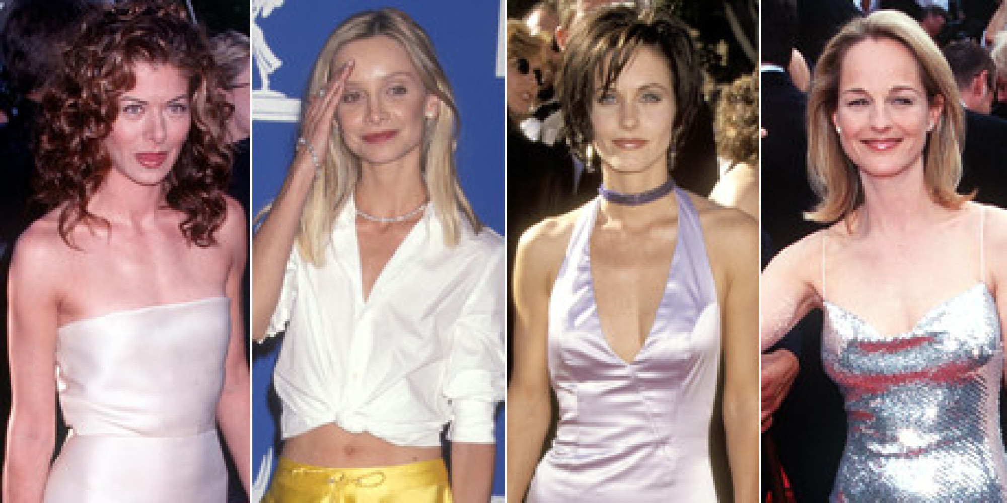 Amazing Emmys 90S Fashion Was A Thing Of Wonder Photos Huffpost Short Hairstyles Gunalazisus