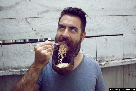 Strange beards