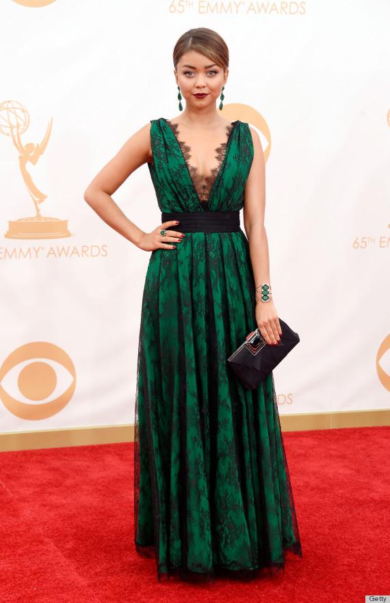 sarah hyland emmys dress 2013