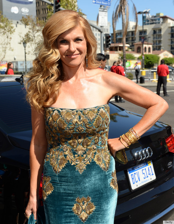 connie britton emmys dress 2013