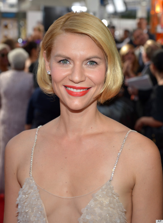Claire Danes' Hair At The 2013 Emmys Causes Heated Twitter ... Claire Danes