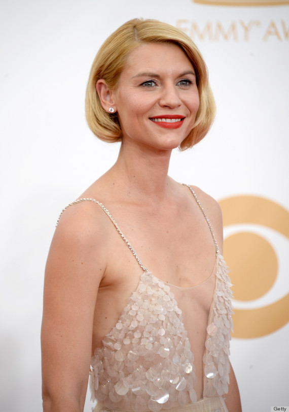 Claire Danes Hair At The 2013 Emmys Causes Heated Twitter - Girls Shaved Hairstyles