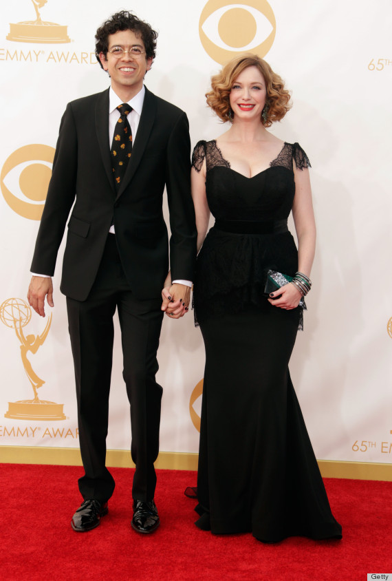 christina hendricks emmys dress 2013